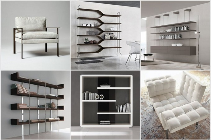 Una colecci n de muebles italianos de un minimalismo for Muebles de salon italianos